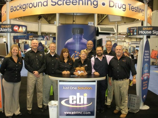 EBI Exhibiting – Booth #2531 at SHRM in Atlanta – Learn How We Take the Work Out of Hiring!