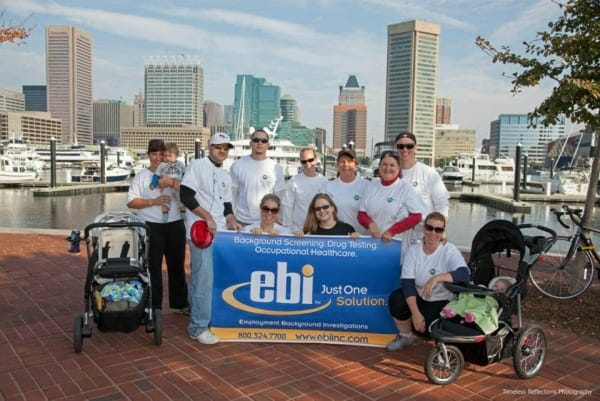 Team EBI Storms the Inner Harbor to Support the American Diabetes Association