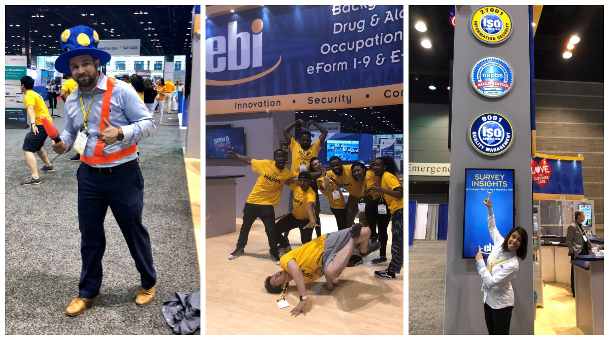 EBI booth at SHRM18
