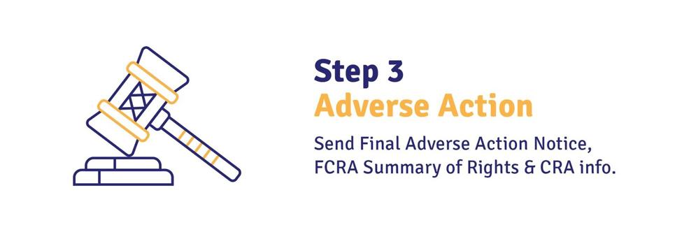 Adverse Action Follow Through