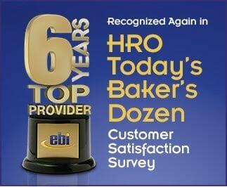EBI Makes HRO Today's Baker's Dozen for the Sixth Time